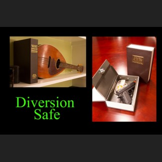 Book with Key Lock - Diversion Safe