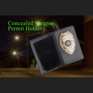 Concealed Carry Badge and Permit Holder